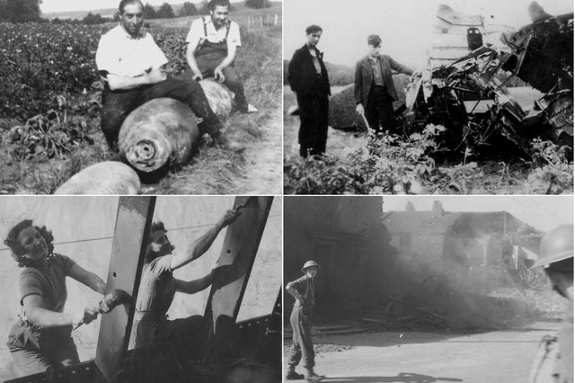 These photos show Hartlepool people who lived day to day under the threat of air raids.
