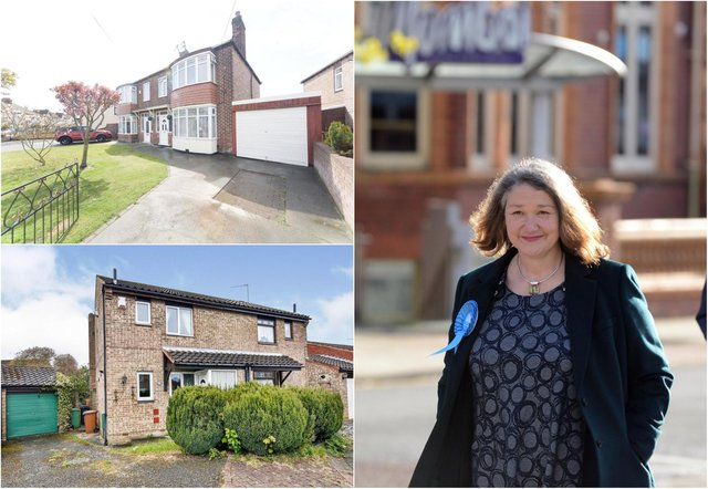 Hartlepool's newly elected MP Jill Mortimer has said she is looking for a home in the constituency. Photo: Rightmove