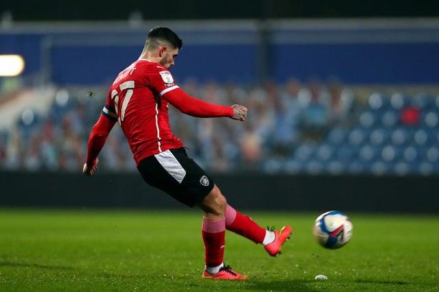 Barnsley midfielder Alex Mowatt.