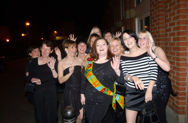 Party time for these ladies 16 years ago. Do you recognise them?