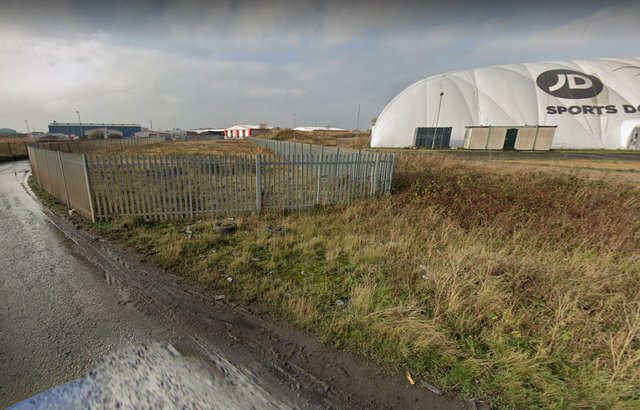 Land to the south of the Sports Domes in Seaton Carew. Pic via Google Maps.