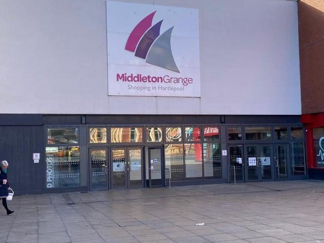 Middleton Grange shopping centre.