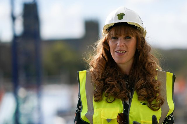 Angela Rayner, Deputy Leader and Chair of the Labour Party. Picture: Ian Forsyth/Getty Images.