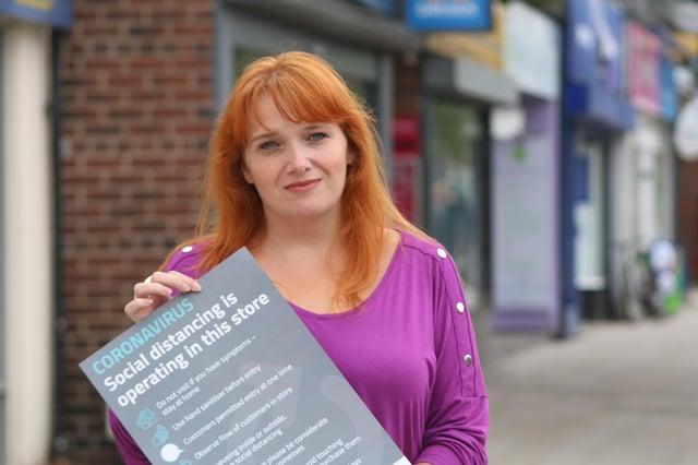 Karen Goldfinch, chair of North Tyneside Business Forum.