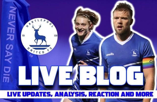 Halifax Town v Hartlepool United live blog.