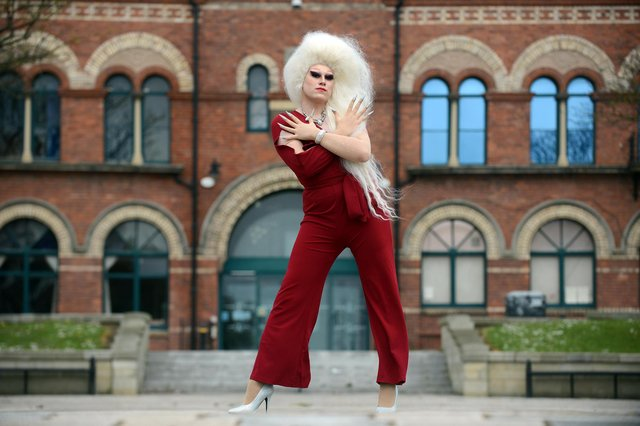 Anthony Layton from Hartlepool is competing in Miss Drag UK as his drag persona Celeste St Clair.