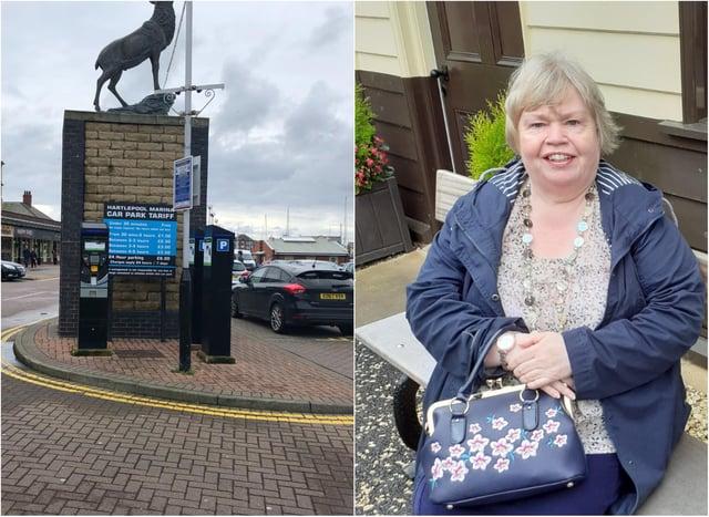 Jill Blenkinsopp received a £60./Photo: Northwest Parking Management/ Jill Blenkinsopp