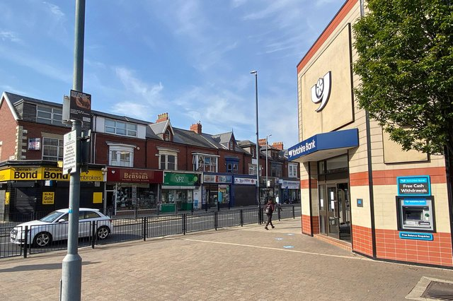 Emergency services were called to York Road in Hartlepool