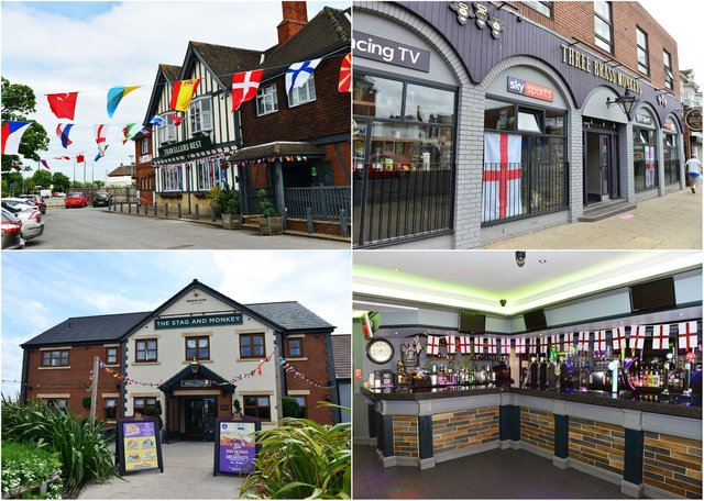 Some of the Hartlepool pubs and restaurants showing both Hartlepool United and England's games on TV on Sunday, June 13.
