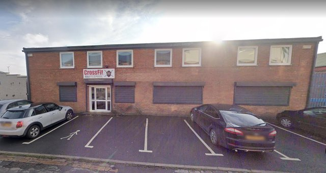 The former Cross Fit gym premises, in Havelock Street, Hartlepool, which are to be converted into dance studios.