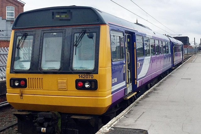 Northern Rail confirmed line blocked. Photo credit should read: Richard Woodward/PA Wire