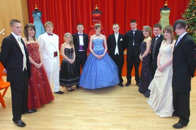 A photo from a 2007 fashion show by St Hild's pupils.
