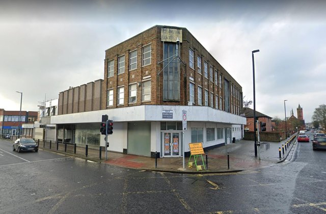 Plans have been unveiled to renovate this building on the corner of Hartlepool's York and Victoria roads.