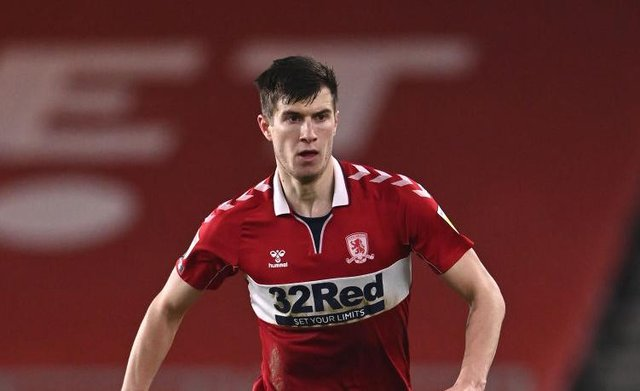 Middlesbrough's Paddy McNair went off injured against Preston.