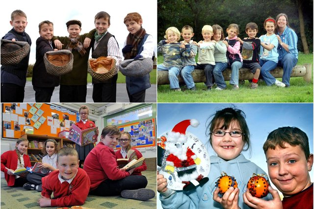 We have 10 primary school photos for you to enjoy but how many do you remember?