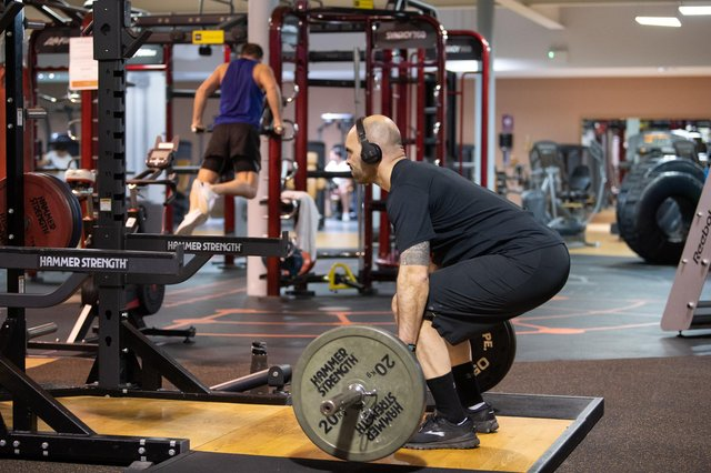 Gyms will be reopening on Monday, April 12. Picture: PA.
