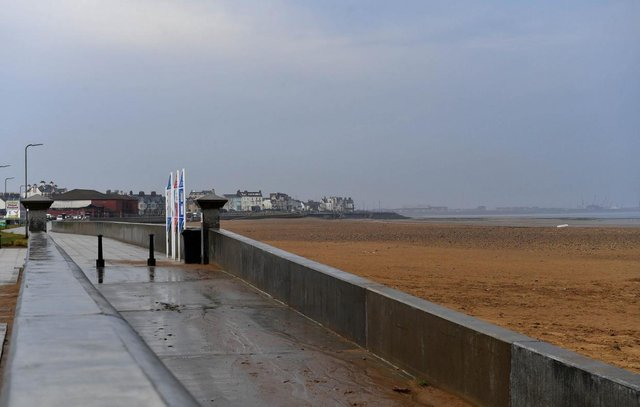 Hartlepool can expect a wet and cold Sunday, according to the Met Office.