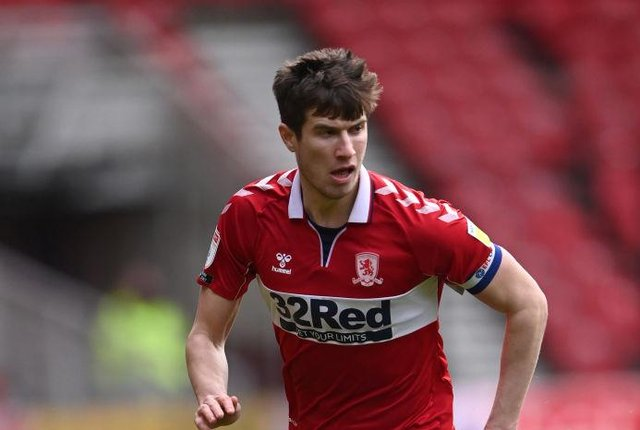 Middlesbrough's Paddy McNair.