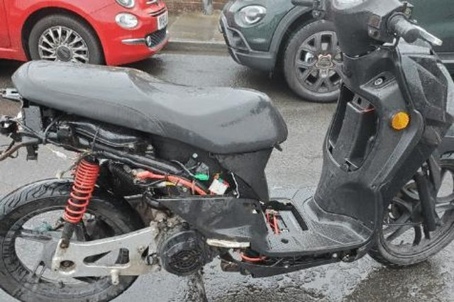 Police have said that the bike will be destroyed./Photo: Hartlepool Neighbourhood Police Team
