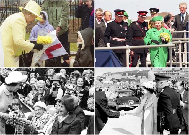 We pay tribute to the Queen who has so often been a welcome visitor to Hartlepool and East Durham.