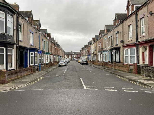 Hartlepool's Mitchell Street was one of the streets police targeted.