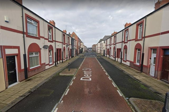 One of the incidents was reported in Hartlepool's Dent Street./Photo: Google