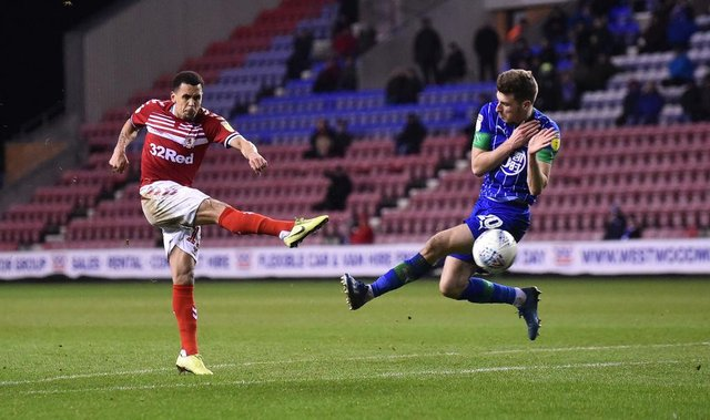 Ravel Morrison playing for Middlesbrough.