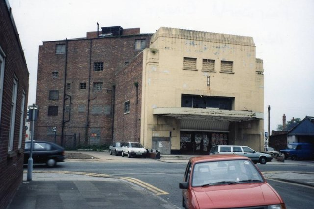 The ABC Cinema in Raby Road, Hartlepool opened as The Forum in 1937. It became the Fairworld much later and closed in 1983. Photo courtesy of the Hartlepool Library Service.