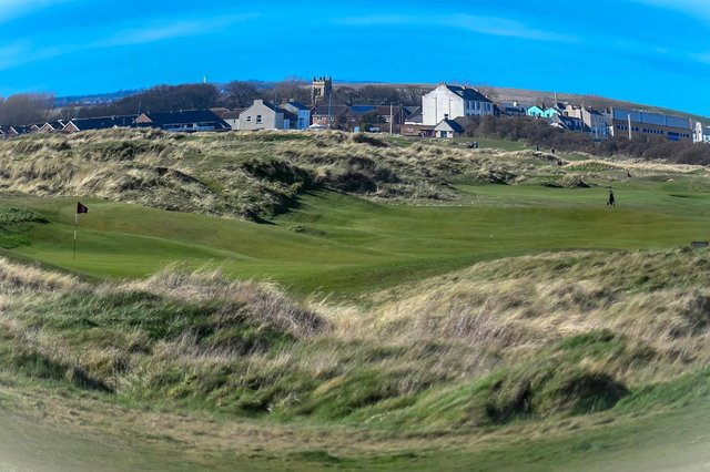 Seaton Carew golf course, picture courtesy of slsportsphotos.co.uk