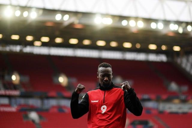 Striker Famara Diedhiou has left Bristol City.