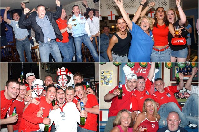 The exhilaration of supporting England is clear to see in these archive Hartlepool Mail photos. Take a look at our retro feature for even more reminders.