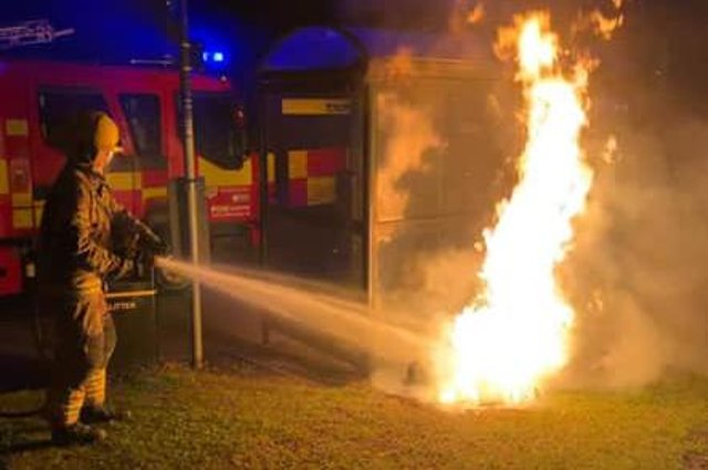 It's been a busy weekend for fire crews