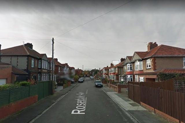 Rosedale Avenue in Harlepool./Photo: Google