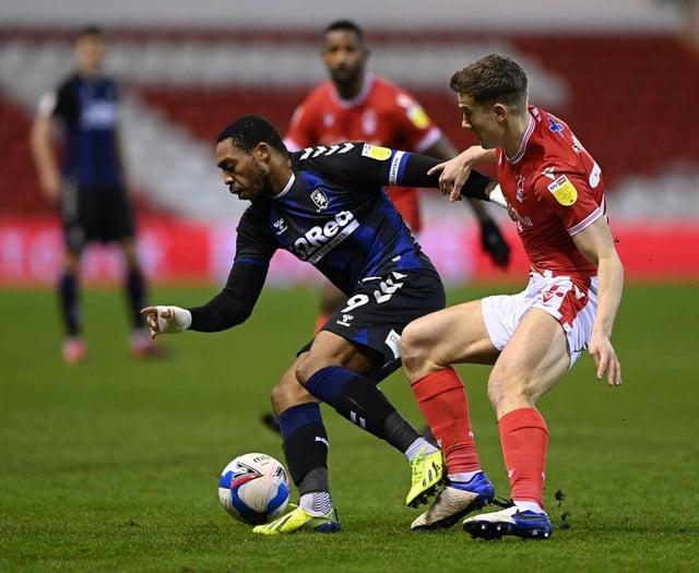 Middlesbrough striker Britt Assombalonga.