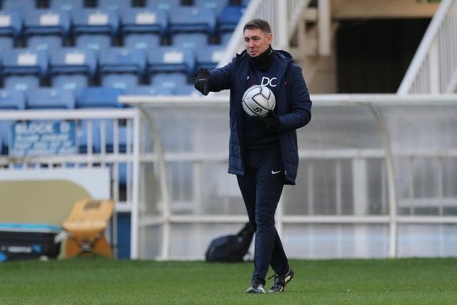 Hartlepool United boss Dave Challinor.