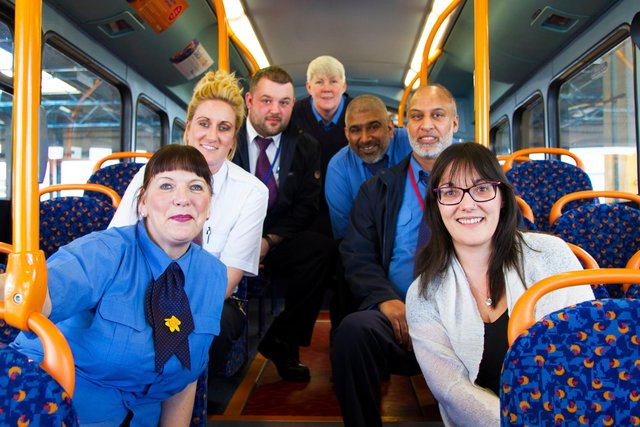 Stagecoach are working to positively include people of all ages and races in their company.