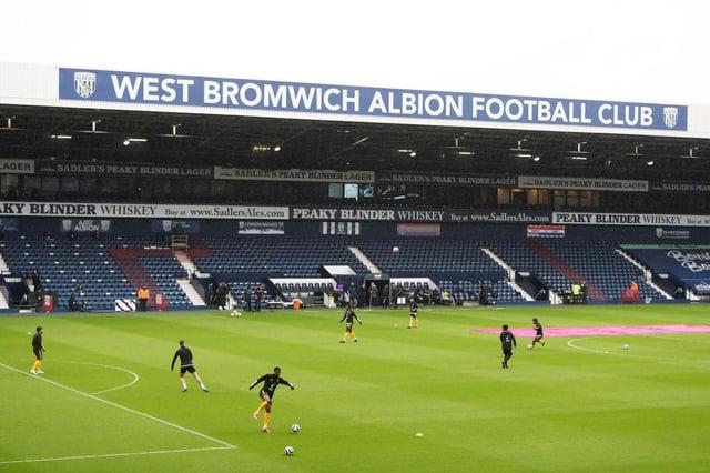 West Brom's stadium The Hawthorns.
