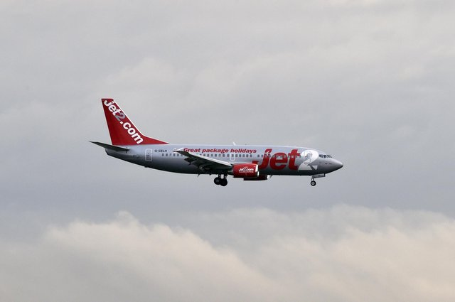 Jet2 have delayed restarting flights and holidays until July 1 after changes were made to the UK's travel lists. Photo: Getty Images.