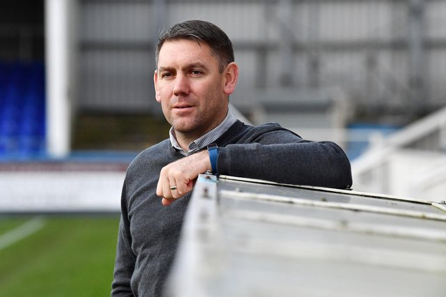 Hartlepool United manager Dave Challinor. Picture by FRANK REID