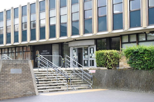 The case was dealt with at Teesside Magistrates Court.