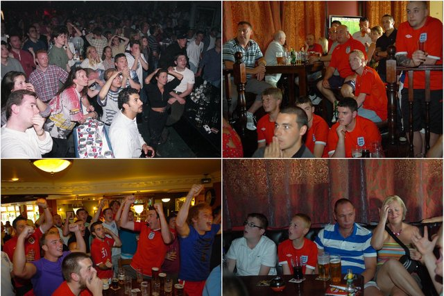You can't beat an England-Germany match for drama - but are you pictured?