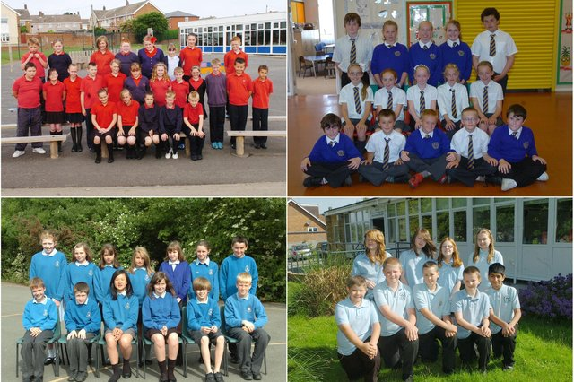 It's that moment when your loved ones swap school. Is there someone you know in one of these photos?