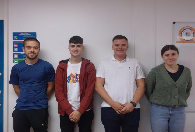 Hartlepool power statioon's 2020 apprentices. Could you be next?