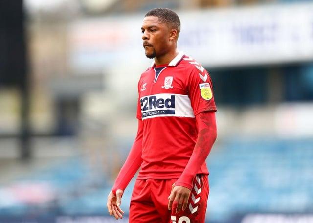 Middlesbrough striker Chuba Akpom.