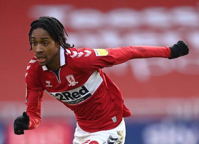Middlesbrough defender Djed Spence.