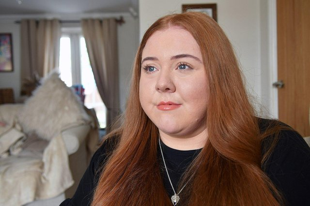 Abbi, 27, has had to undergo two surgeries since 2019.