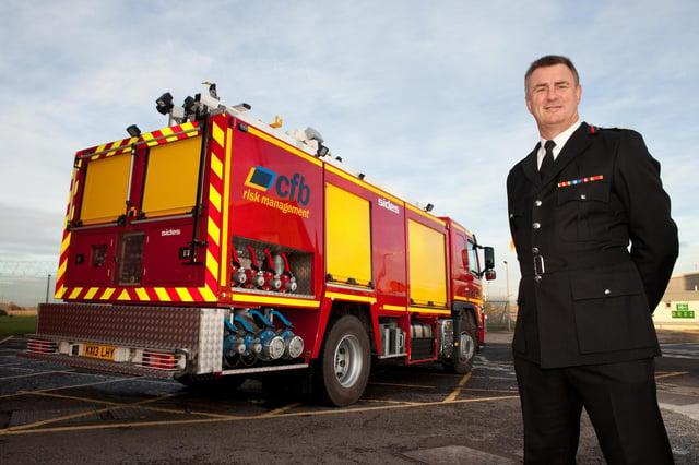 Ian Hayton, of Cleveland Fire Brigade.