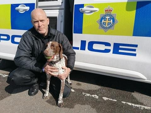 PD Lottie and PC Ian Squire