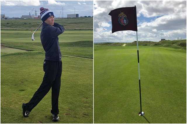 Jack Burton, 15, scored his first hole in one during a junior championship at Seaton Carew Golf Club.