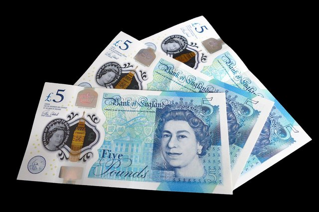 The pension will also provide a small monthly income of about £80.